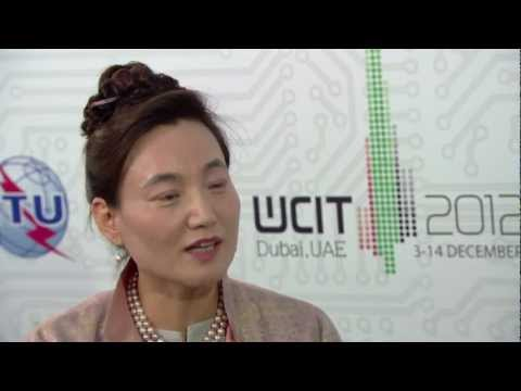 ITU INTERVIEW @ WCIT - 12: Dr. Eun-Ju Kim, Regional Director, Asia Pacific Regional Office, ITU