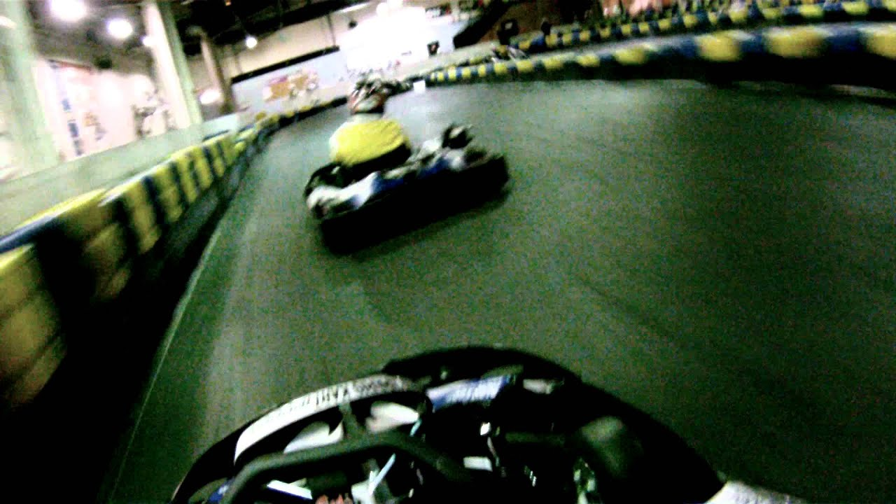 Paris kart indor piste int rieur gopro fullhd 22 06 2012 for Karting interieur
