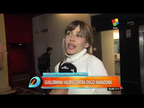 La palabra de Guillermina Valdés sobre la traición de la que Maradona acusó a Tinelli