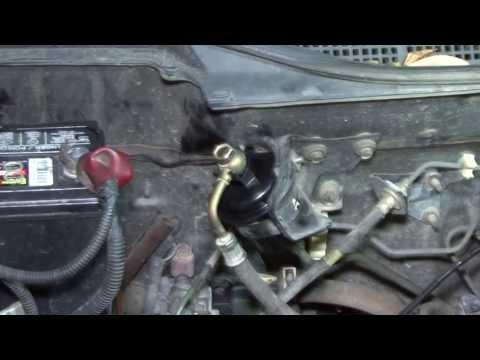on 1993 Honda Civic Fuel Filter Location