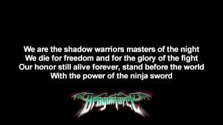 Watch Dragonforce Power Of The Ninja Sword video