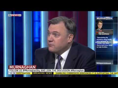 Ed Balls:  I couldn t give a toss  - Murnaghan, Sky News