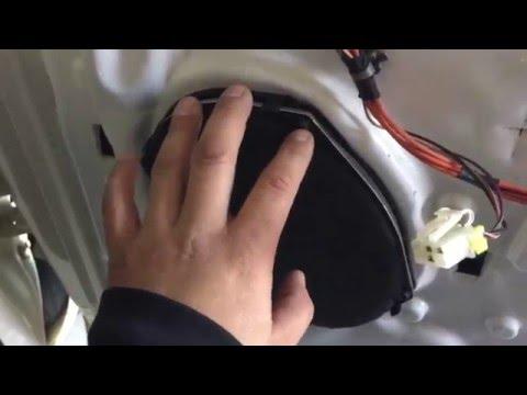 Dodge Ram Front Speaker Removal & Installation