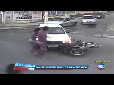 Motorradunfall endet romantisch