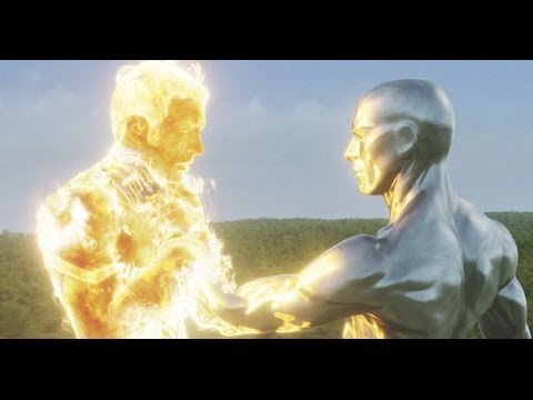 THE MOVIE ADDICT REVIEWS Fantastic Four - Rise Of The Silver Surfer (2007)
