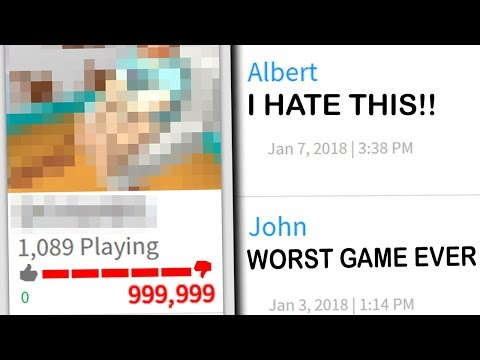 BY FAR ROBLOX'S WORST GAME