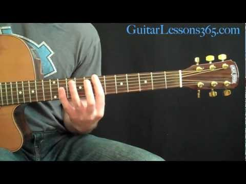 She Talks To Angels Guitar Lesson  The Black Crowes  Complete Acoustic Song