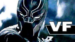 BLACK PANTHER - NOUVELLE Bande Annonce VF du Film (Marvel, 2018)