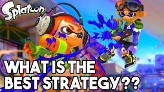 THE BEST STRATEGY?? Splatoon Gameplay - Arowana Mall Multiplayer (60FPS 1080p Wii U Gameplay)