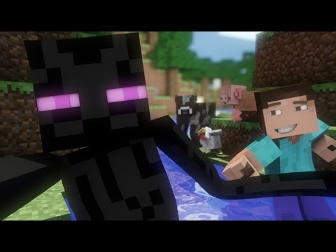 Enderman's Day Off - Minecraft Animation - FrediSaalAnimations
