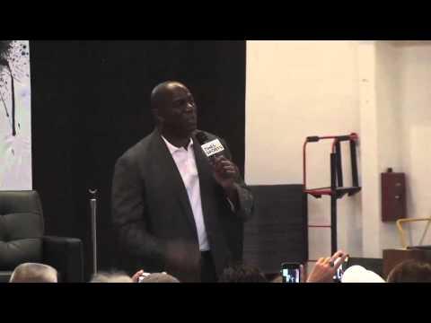 Magic Johnson on 1992 Dream Team