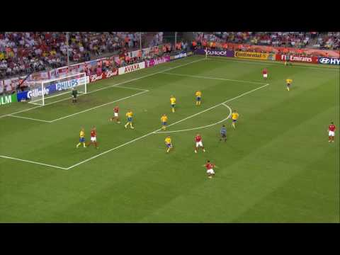 2006 World Cup Goals (Cole vs. Sweden) Video