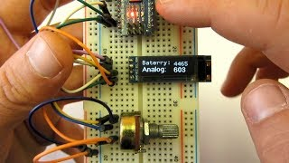 u8g2 library and 128x32 OLED - Arduino lesson