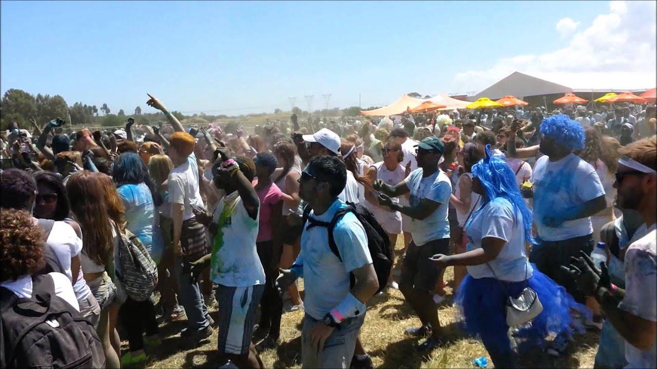 Crazy Colours Colour me Crazy Cape Town 2013