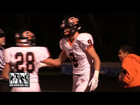 Cathedral Prep General McLane High School Football 2014 Charlie Fessler Touchdown