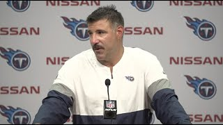 Mike Vrabel: We Didn't Get it Done in the Fourth Quarter