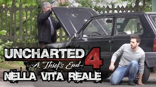 UNCHARTED 4 NELLA VITA REALE - (Prank) | Kevin Believe