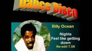 BILLY OCEAN: Nights feel like getting down (re-edit 7.08)