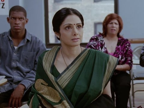 Sridevi's First Day At English Classes - English Vinglish