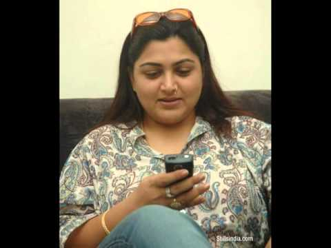 Tamil Actress Kushboo Beautiful Photos video