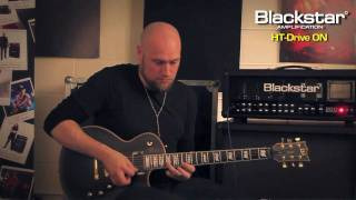 Andy James jams with the Blackstar HT-DRIVE overdrive pedal