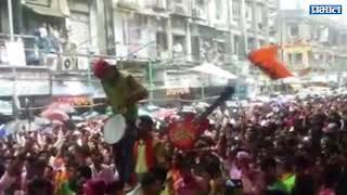 Ganesh Visarjan Mirvanuk  Lalbaug Cha Raja, Mumbai