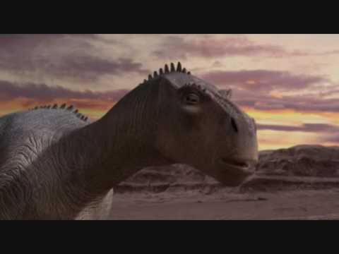 Dinosaur Aladar and Neera clip Finnish YouTube
