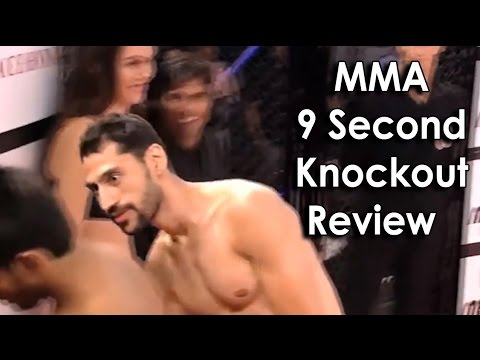 Ozzy Man Reviews: MMA 9 second knockout. This had me on the floor