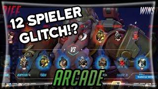 12 vs 12 Glitch!? • Overwatch Arcade deutsch