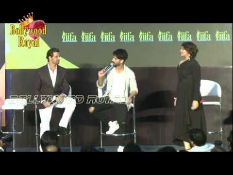 Hrithik,Sonakshi,Shahid,Arjun &Anil Kapoor at P C of  'IIFA' Awards Announcement  3