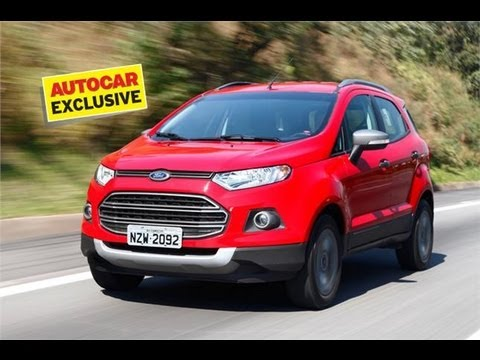Ford EcoSport | First Drive In Brazil | Autocar India