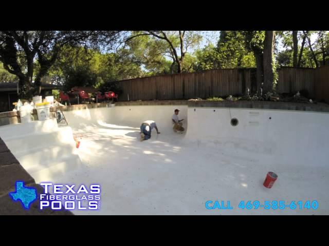 Texas Fiberglass Pool Resurfacing