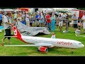 GIANT RC AIRBUS A 330-300 AIR BERLIN AIRLINER TURBINE SCALE AIRCRAFT MODEL JET FLIGHT DEMONSTRATION