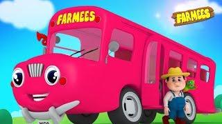Wheels On The Bus   Nursery Rhymes for Babies   Kindergarten Songs