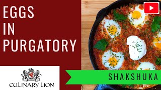 Shakshuka Eggs in Purgatory