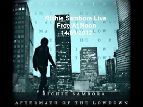 Richie Sambora Live - Free At Noon - 14/09/2012