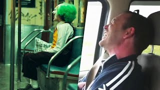 Man Laughs Uncontrollably Like Joker