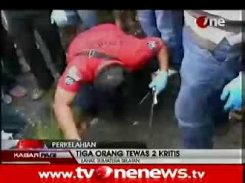 Tawuran Pemuda di Lahat, 3 Tewas & 2 Kritis