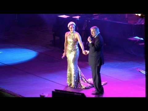 Lady Gaga Performing With Tony Bennett At La Grand Place In Brussels, Belgium Part 1 video