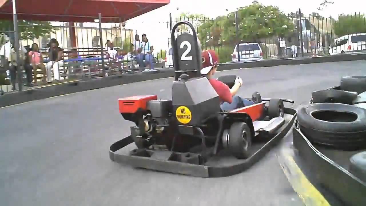 Go Karts Adventure Landing Raleigh Nc Youtube