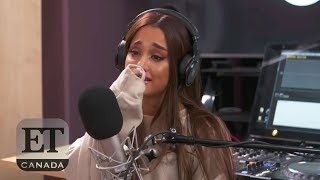 Ariana Grande's Emotional Beats 1 Interview