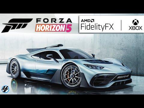 FORZA HORIZON 5 - PODE UTILIZAR AMD FidelityFX PARA XBOX ONE, SOM DOS CARROS