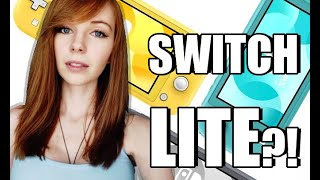 NINTENDO SWITCH LITE?!  | REACTION & THOUGHTS | MissClick Gaming
