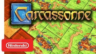 Carcassonne - Gameplay Trailer - Nintendo Switch