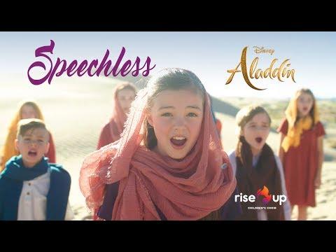"Download  Naomi Scott - Speechless From ""Aladdin"" - Cover by Rise Up Children's Choir Gratis, download lagu terbaru"