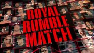 Royal Rumble 2013 Full Match Card