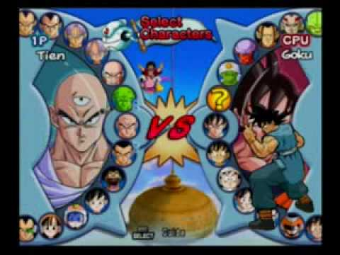 Dragon Ball Z Infinite World All Characters including fusions