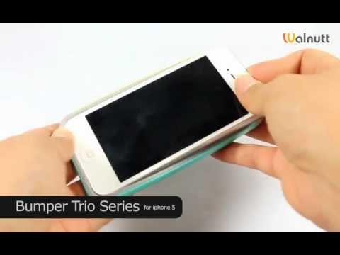 iPhone5 Case Walnutt Bumper Trio