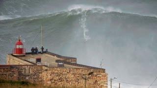 Caught On Tape: Daredevil Surfer Tackles Largest Wave Ever