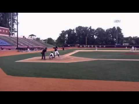 Juan Carlos JC Pena SS 2013 MLB Draft Choice 2012 Firecracker Invitational at Wake Forest Day 3